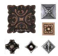 decorative tile inserts metal accent