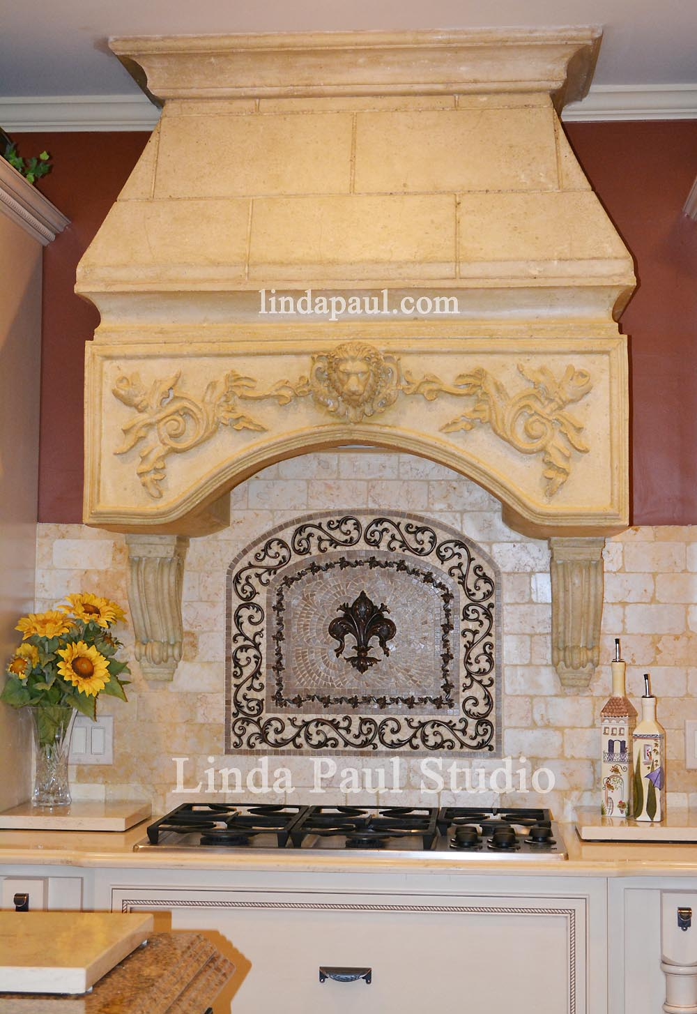 how to install metal tile accents and