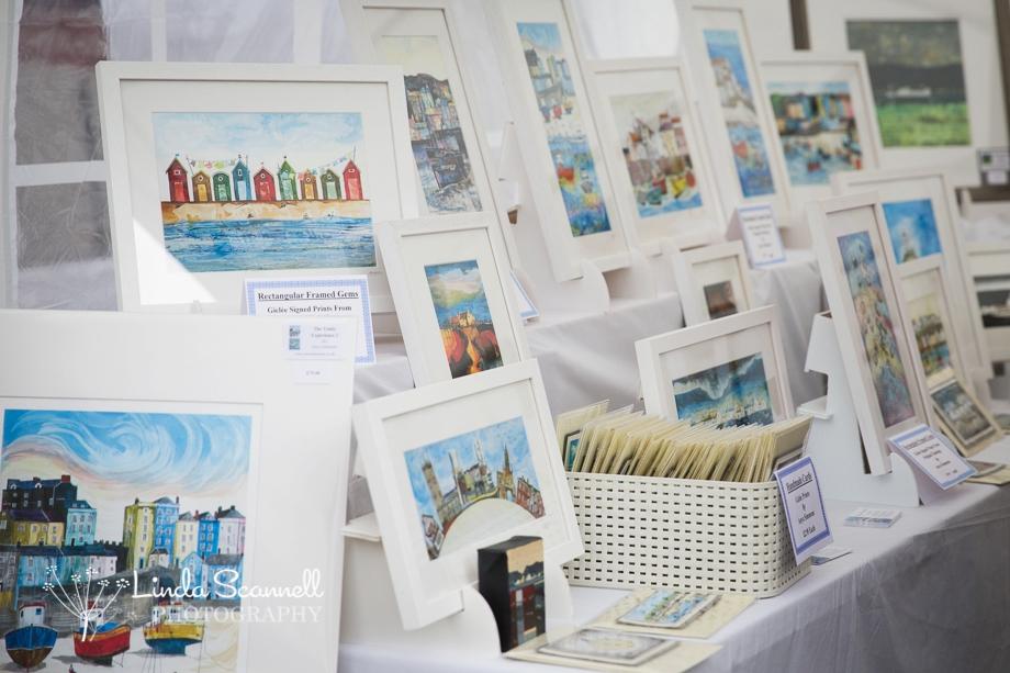Anya Simmons art stall | Art in the Park Leamington Spa
