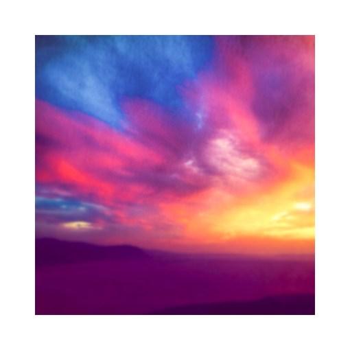 Colourful sunsete