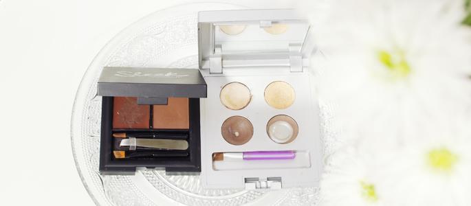 Beginnen met opmaken make-up wenkbrauw palette Anastasia Sleek brown bruin