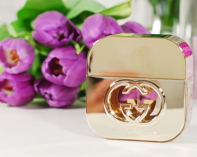 Gucci Guilty Eau de Toilette gold review pretty beautyfu fragrance high-end