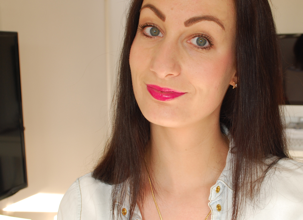 Yves Rocher zéro défaul mattifying and long-lasting lip primer swatch Rose somptueux lip crayon radiant