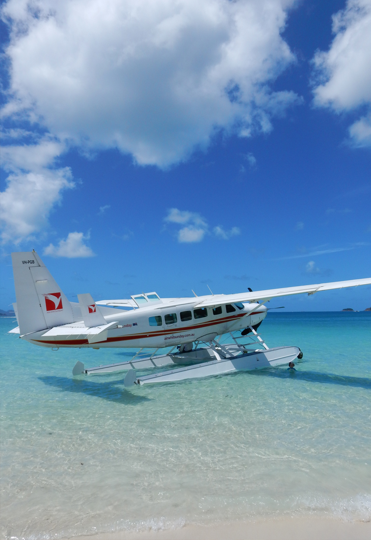 Whitehaven beach whitsunday islands eilanden queensland Australia Australië reizen travel day trip lifestyle by linda