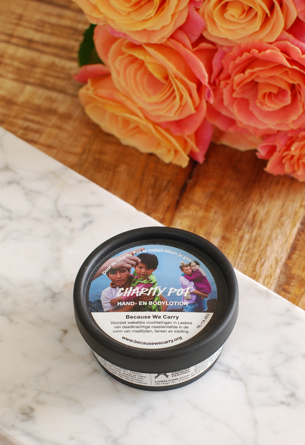 Lush Charity Pot review because we carry