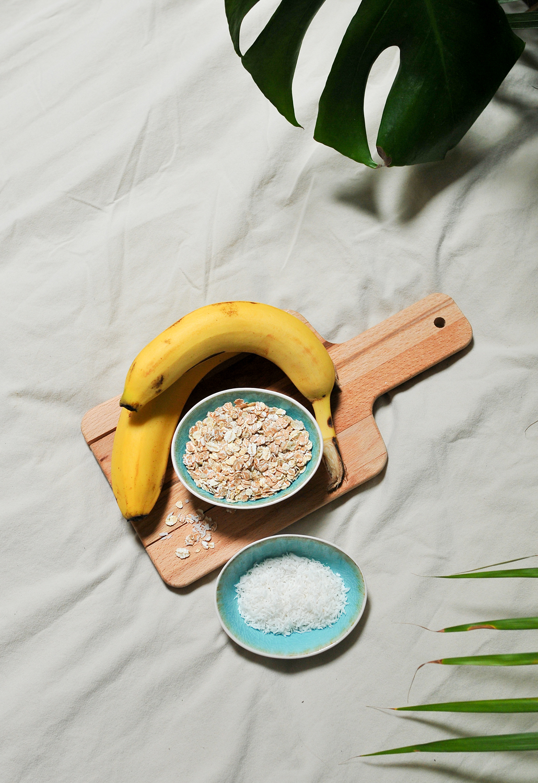 Vegan Banana Oatmeal Pancakes Sunday Breakfast