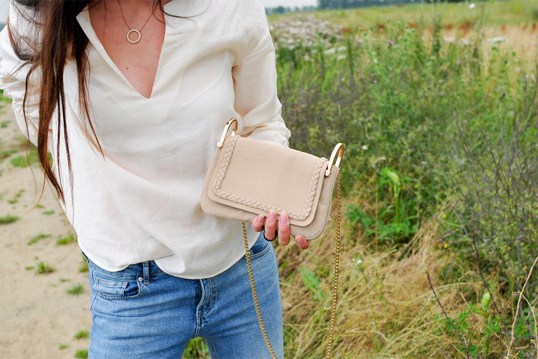 H&M Bag gerecycled leer lifestyle by linda