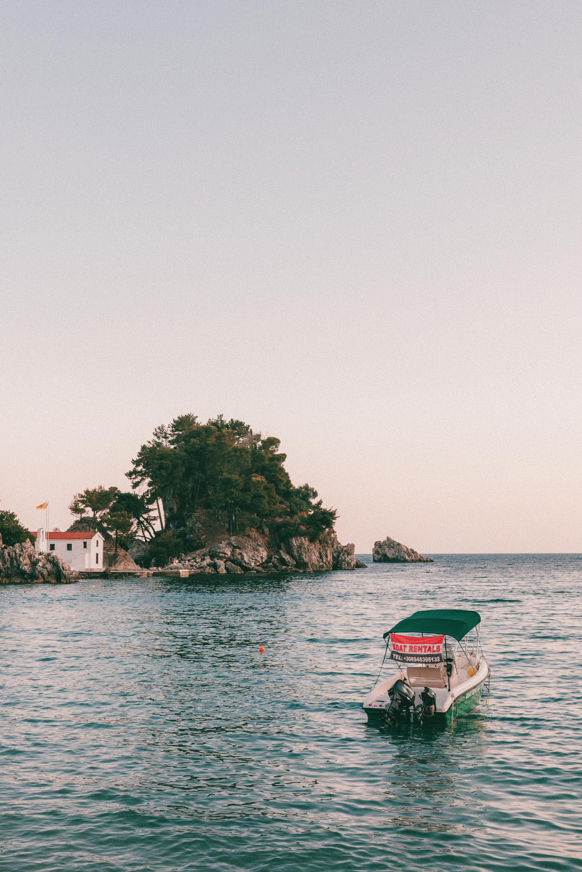 Sunset Parga Greece