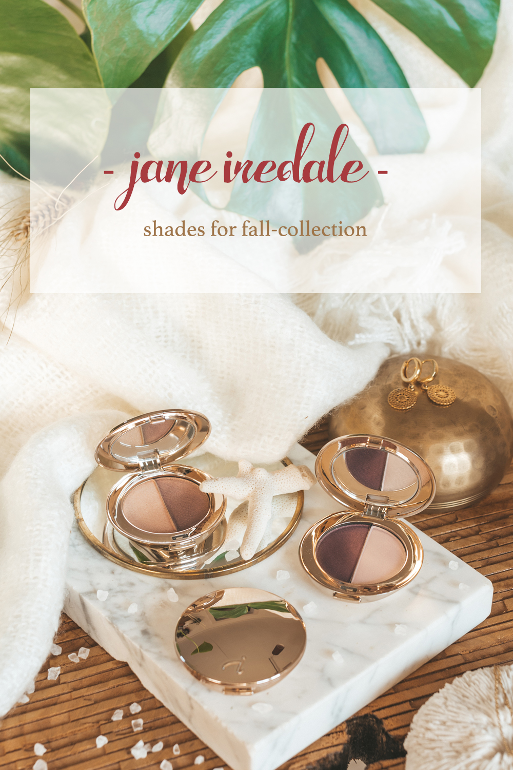 Shades for Fall-collectie jane iredale herfstcollectie 2018
