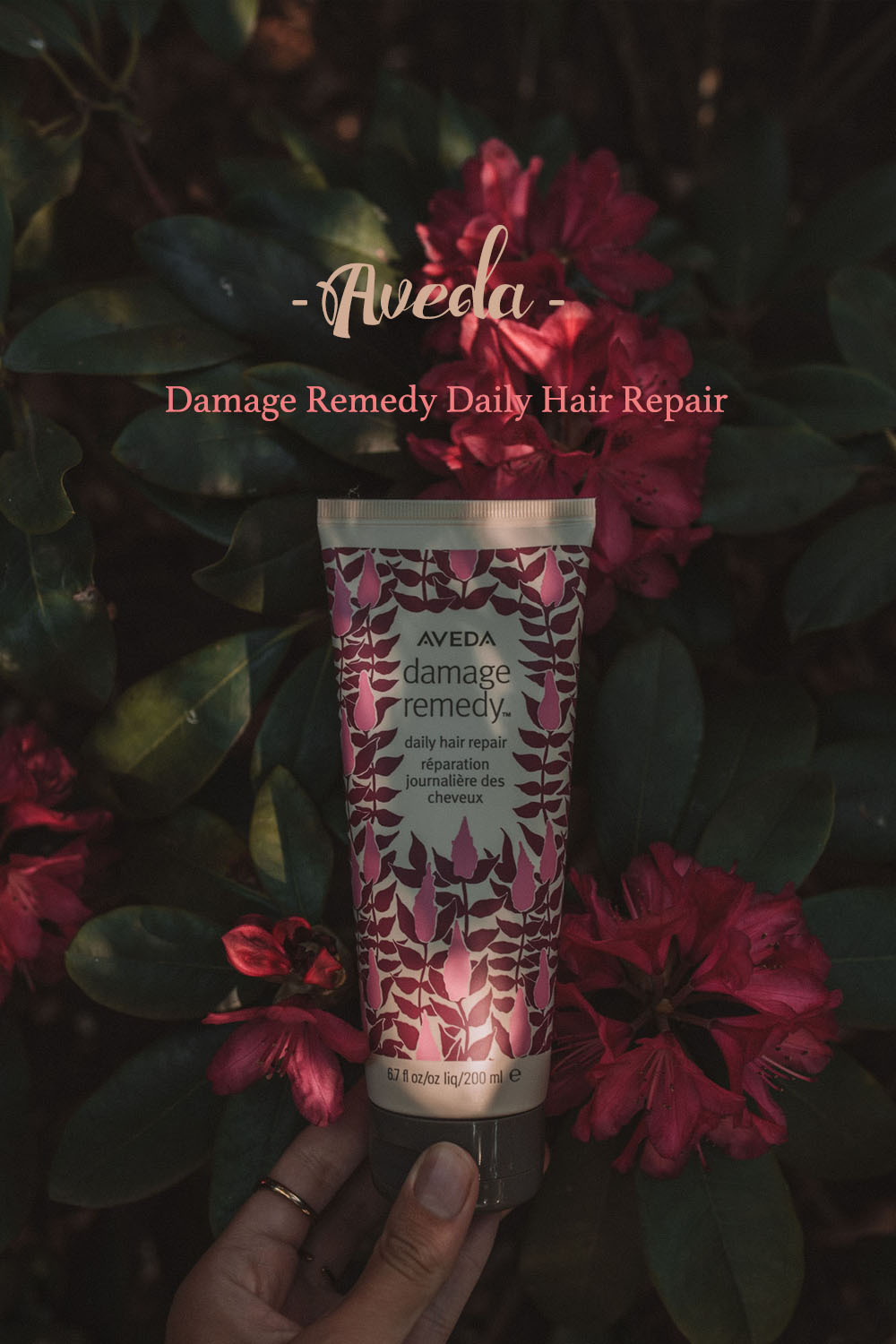 Aveda damage remedy daily hair repair limited edition