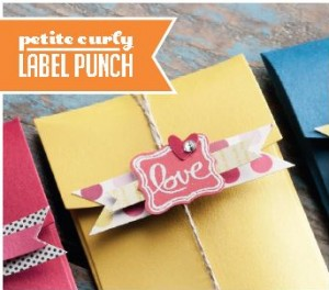 Petite Curly Label Punch