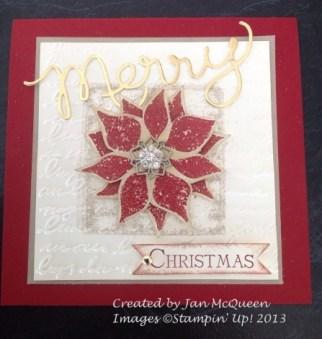 Jan McQueen Thinlits Card