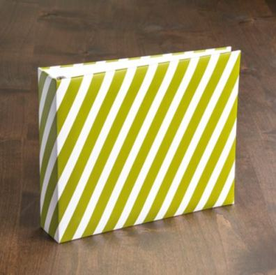 SoS Striped Scrapbook