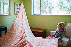 feng shui kids bedrooms, blanket tent