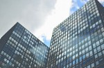 Feng Shui office, feng shui corporate office, photo of glass office towers