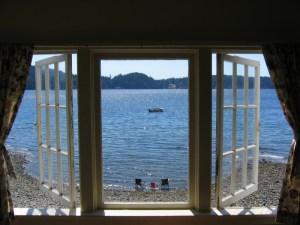 window treatments view of ocean