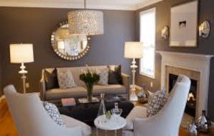 decorating trend ceiling lamp in living room - failure