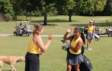 Girls' Golf competes against Northwest