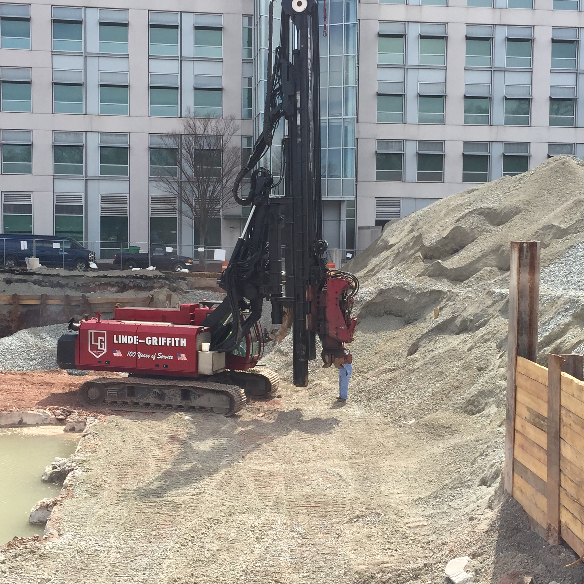 Driven Piles - Linde-Griffith Construction Company