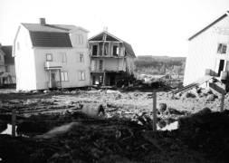 1950, 21 oktober, Surte efter raset
