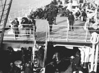 1909, amerikafarare på fartyget ss Deutschland från Kuxhaven