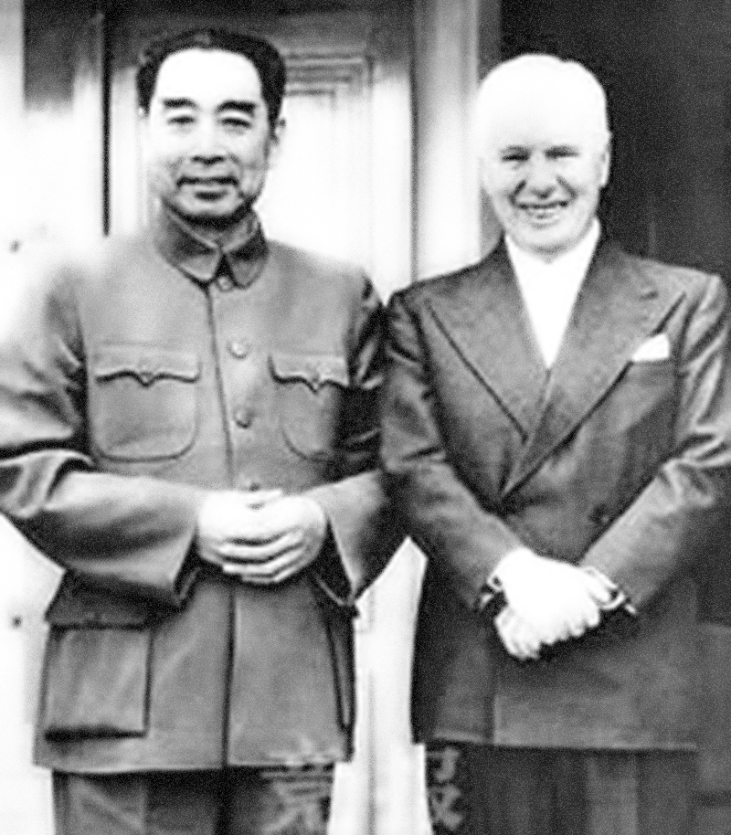 Zhou Enlai, Jan Myrdal och jag – I