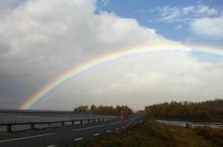 Vädret på vägen mellan Tärnaby och Vilasund 16 september 2013, kl 11:50:26