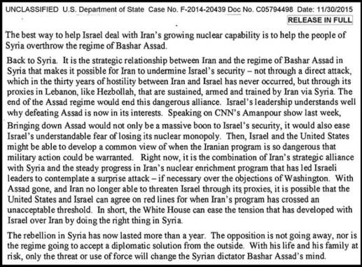 clinton-email-syria-israel
