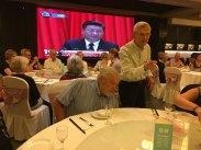 Xi Jinping till maten...