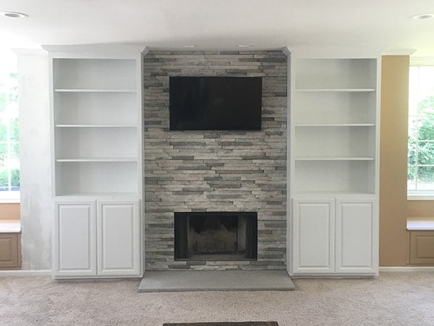 fireplace refacing lindemann chicago