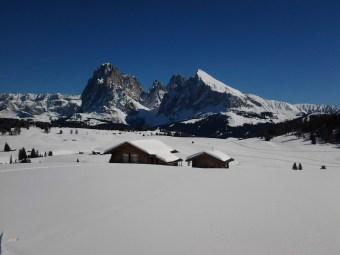 Skispass auf der Seiser Alm