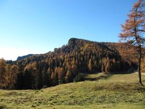Herbstwanderung - Roen Anblick von Osten