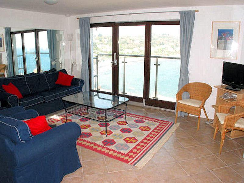 Boak Cottage - sea views - lounge - Cornwall