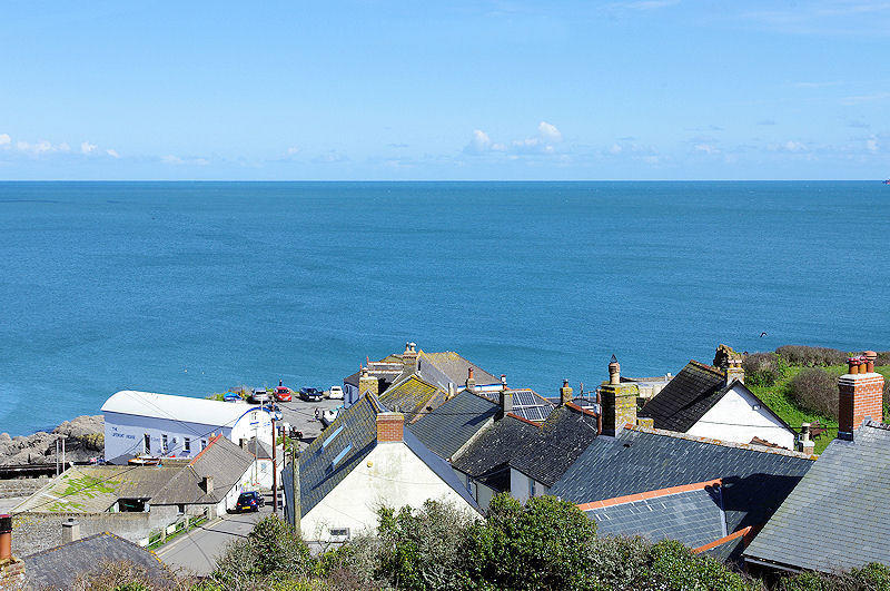 Boak Villa Cottage view self catering cottage Cornwall