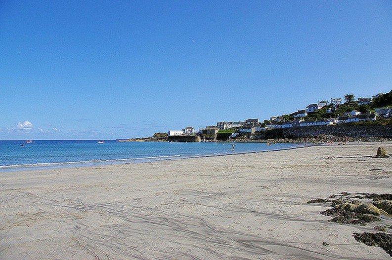 Coverack Beach Cornwall