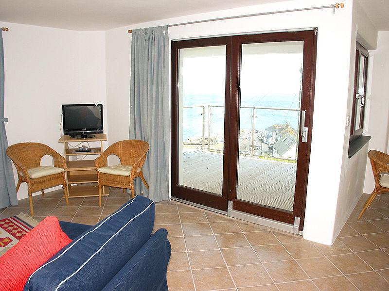 Boak Edge Cottage 1 Coverack Cornwall - Balcony doors