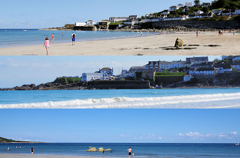Views of Coverack in Cornwall