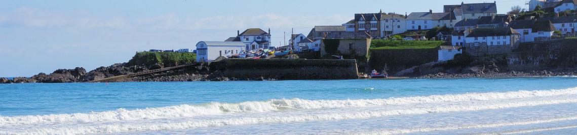 Surf at Coverack Cornwall