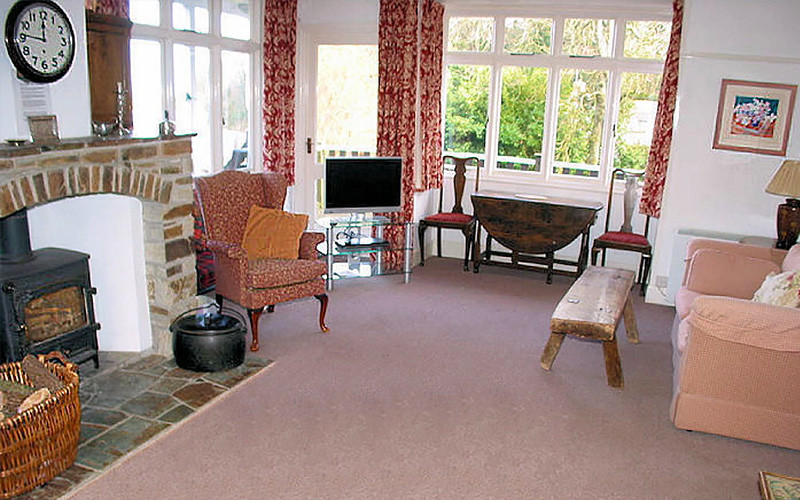 Cornwall Cottages - Curlew living room - self catering Cornwall