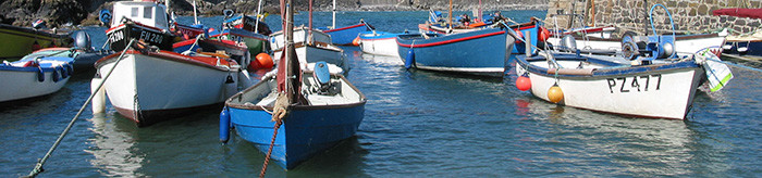 Boats at Coverack