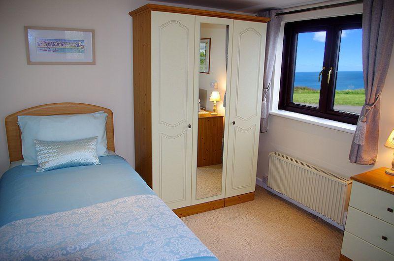 Ocean View Bedroom Cornwall