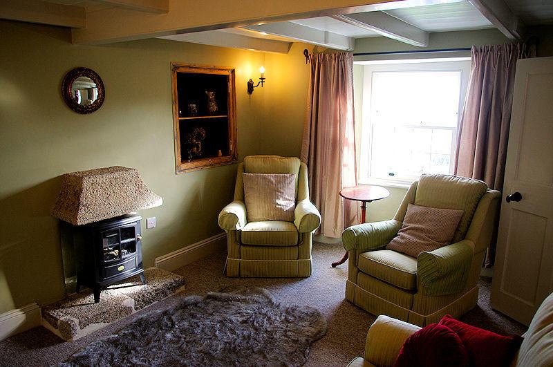 Prospect Cottage Living Room