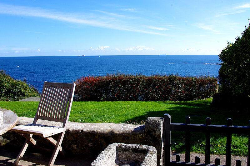 Cornwall Cottages - Prospect Cottage garden sea views - Self Catering