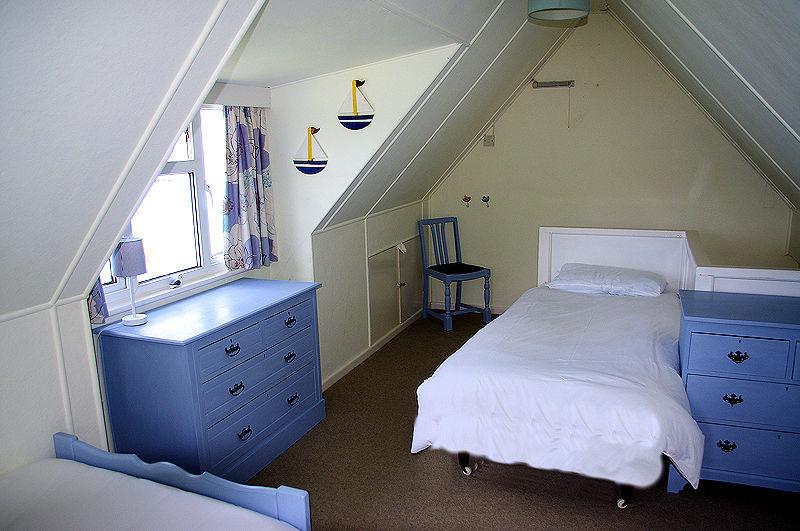Self Catering Cornwall - attic bedrooms