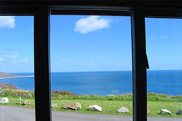 sea view cornwall cottages