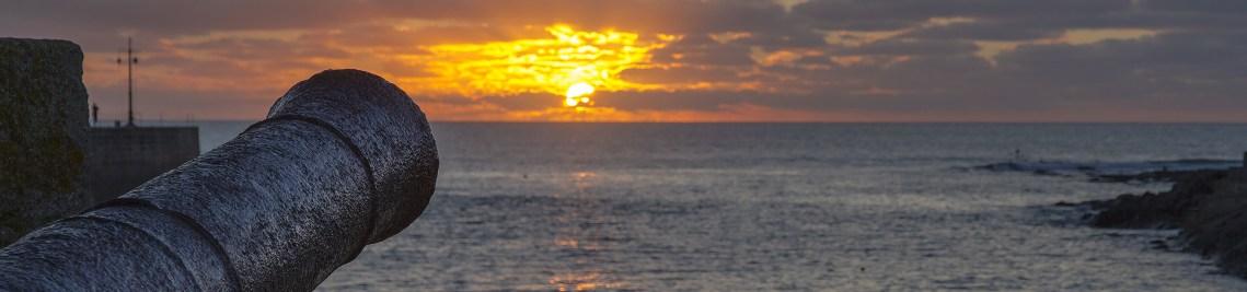 Porthleven Harbour Sunset