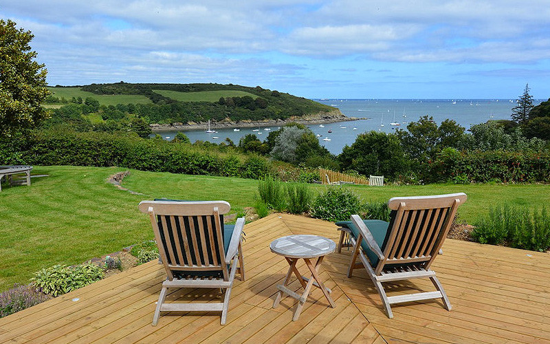 Slopes Cottage Cornwall - the view