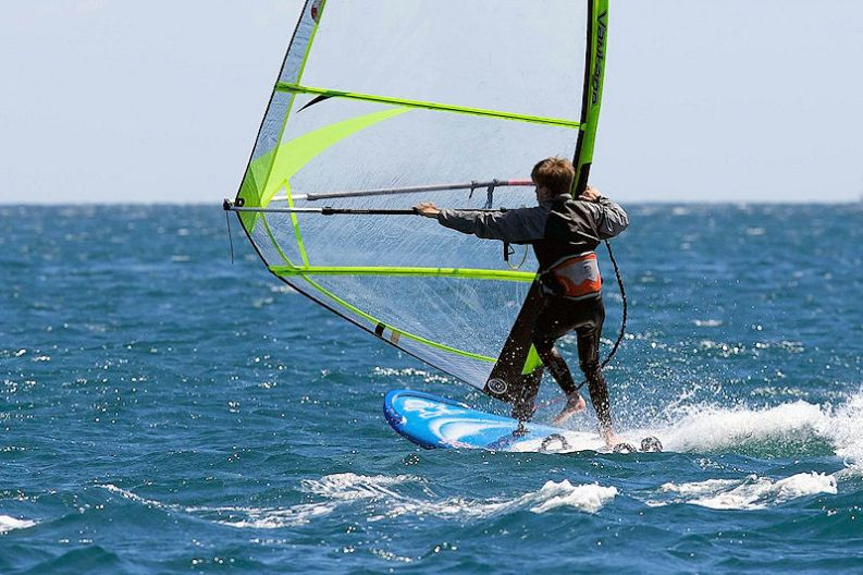 Windsurfing Coverack