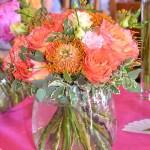 Décoration florale et buffet