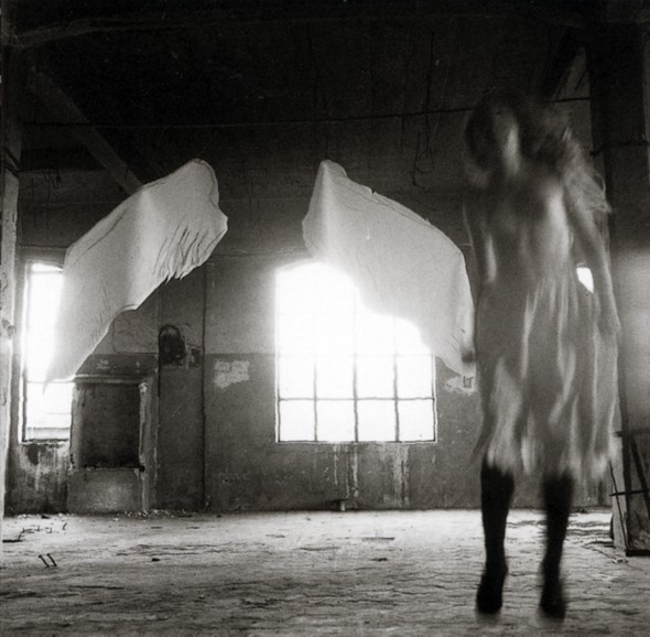 Francesca Woodman - From Angel Series - Roma - Settembre 1977